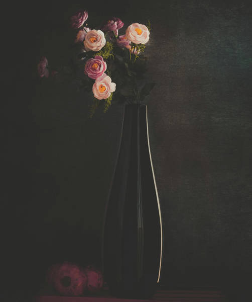 Vases Photograph - The Flower by Farid Kazamil