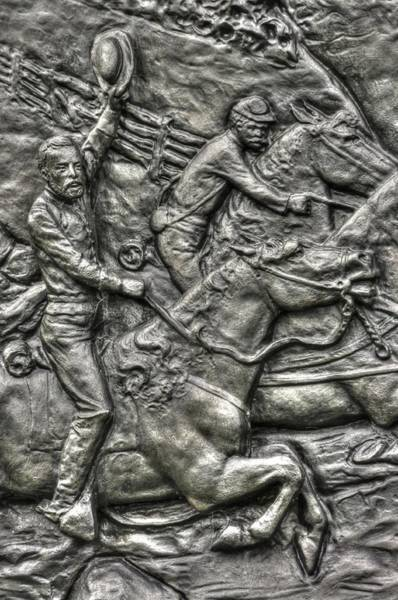 Artillery Brigade Photograph - The Flying Battery Detail-f 6th New York Independent Battery Horse Artillery Gettysburg Autumn by Michael Mazaika