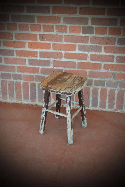 Preston Castle Photograph - The Foot Stool by Holly Blunkall