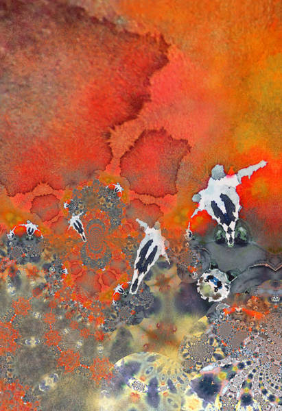 Painting - The Football Game by Miki De Goodaboom