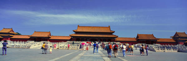 Forbidden City Photograph - The Forbidden City - Tai He Men Gate by Panoramic Images