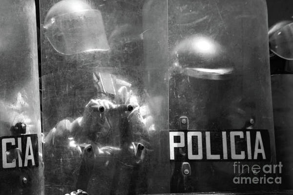 Photograph - The Force Of The Law by James Brunker