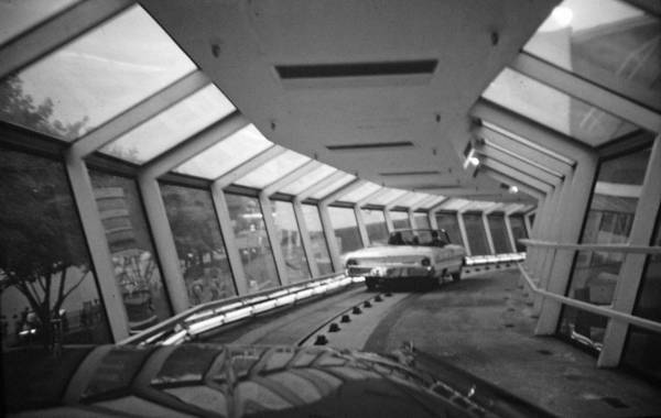 John Schneider Wall Art - Photograph - the Ford Rotunda Highway by John Schneider