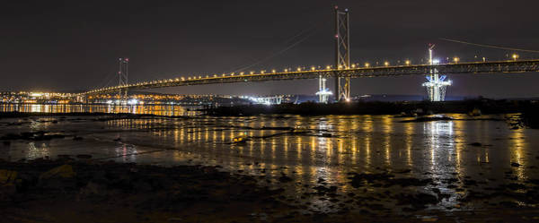 Photograph - The Forth Road Bridge by Ross G Strachan