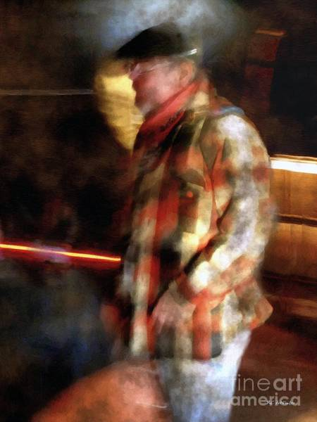 Painting - The Foundryman by RC DeWinter