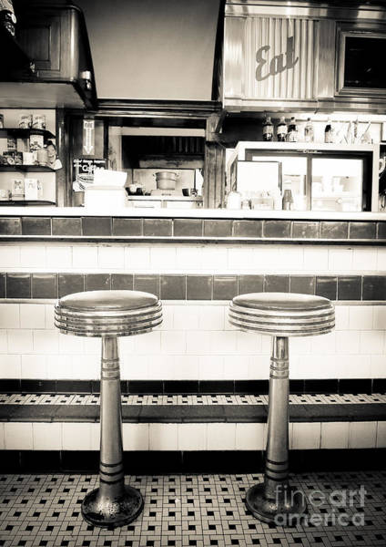 Diner Wall Art - Photograph - The Four Aces Diner by Edward Fielding