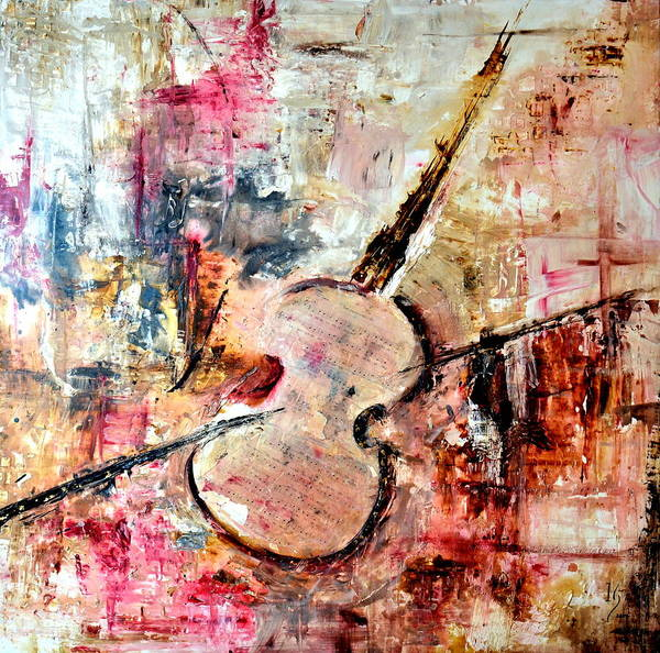 Sax Painting - The Four Seasons by Ivan Guaderrama