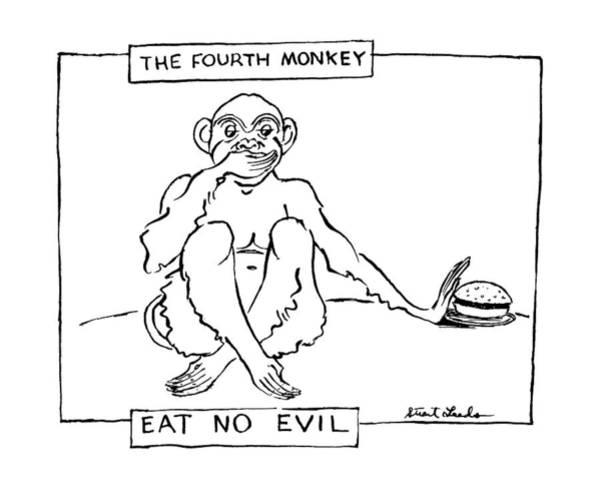 The Fourth Monkey Art Print