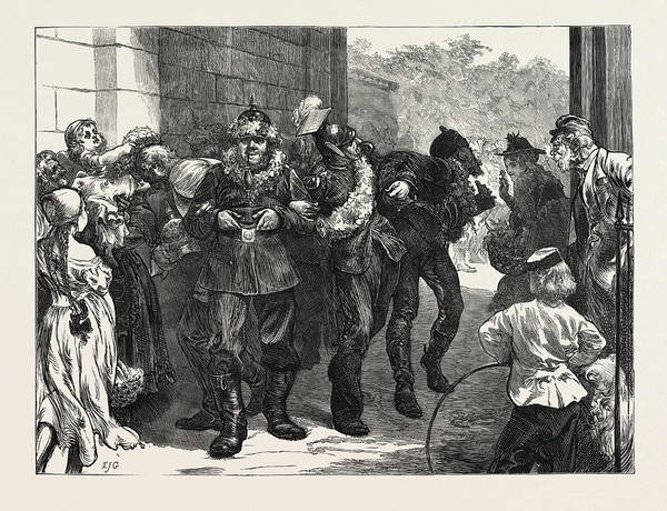 Duty Drawing - The Franco-prussian War The Victors Off Duty by German School