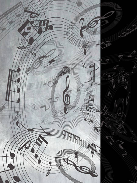Mixed Media - The Freedom Of Music 3 by Angelina Tamez