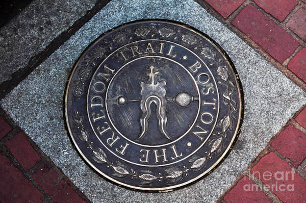 Photograph - The Freedom Trail Boston by John Rizzuto
