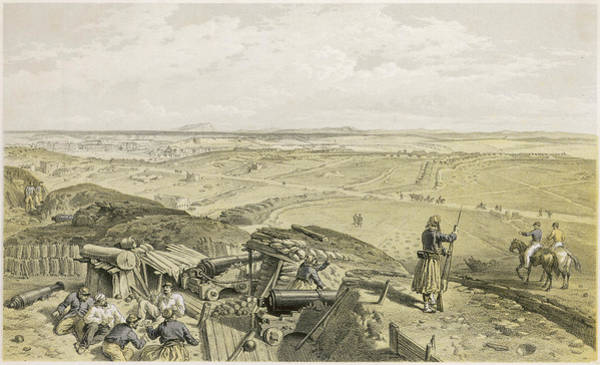 Mat Drawing - The French Bastion Du Mat,  Seen by Mary Evans Picture Library