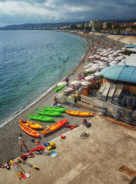 Photograph - The French Riviera by Kim Andelkovic