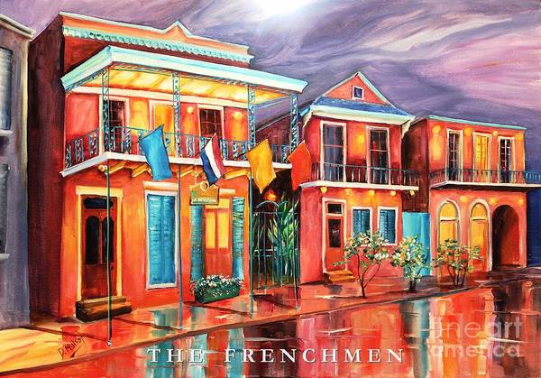 Wall Art - Painting - The Frenchmen Hotel New Orleans by Diane Millsap