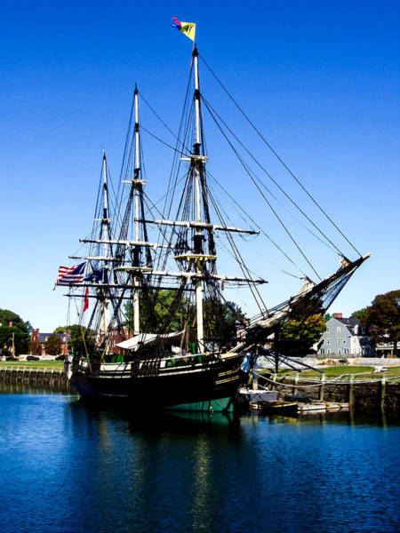 Photograph - The Friendship Of Salem by Bob and Nadine Johnston