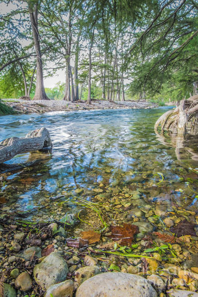 Wall Art - Photograph - The Frio River As Seen From Rr 1120 Leakey - Rio Frio by Andre Babiak