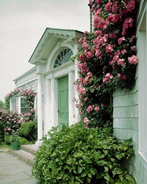 Stuart Photograph - The Front Of Mr. And Mrs. A Stuart Waler's Home by Tom Leonard
