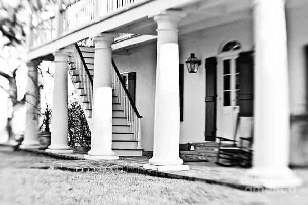 Front Porch Photograph - The Front Porch - Bw by Scott Pellegrin