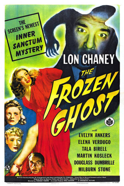 Anker Digital Art - The Frozen Ghost by Studio Artist