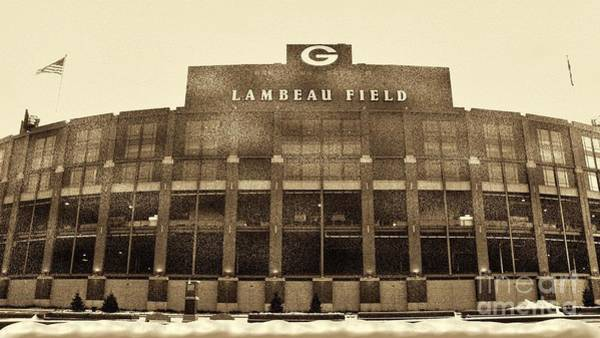 Green Bay Packers Wall Art - Photograph - The Frozen Tundra by Tommy Anderson