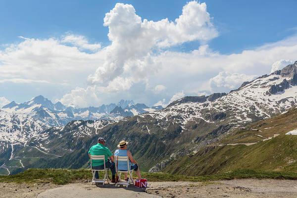 Wall Art - Photograph - The Furka Pass, Switzerland by Ken Welsh