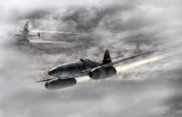 Luftwaffe Wall Art - Digital Art - The Future Is Now by Peter Chilelli