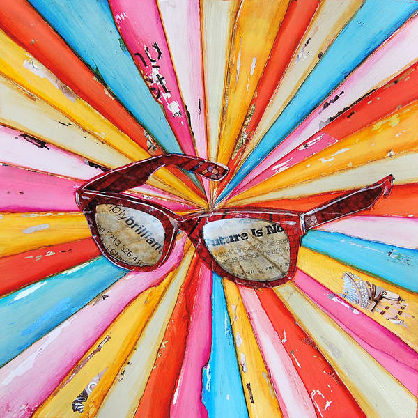 Pool Mixed Media - The Future's So Bright by Danny Phillips