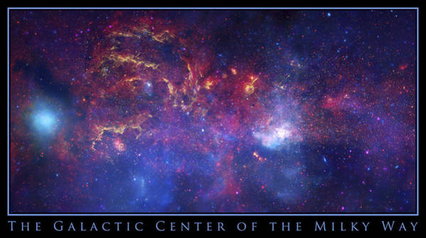 Photograph - The Galactic Center Of The Milky Way by Adam Mateo Fierro