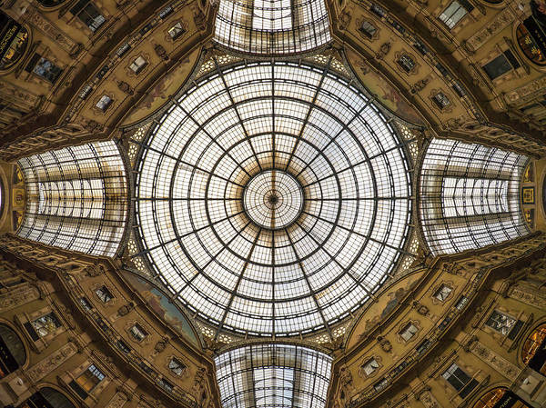 The Galleria Vittorio Emanuele II Art Print