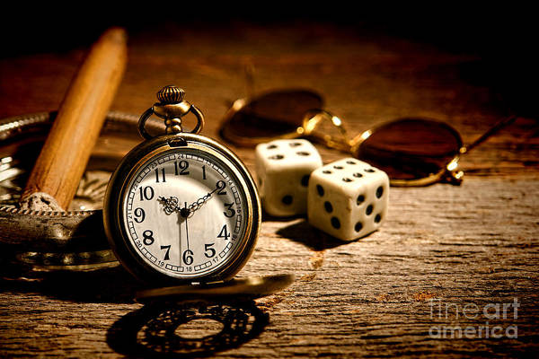 Photograph - The Gambler's Watch by Olivier Le Queinec