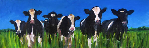 Wall Art - Painting - The Gang by Cari Humphry