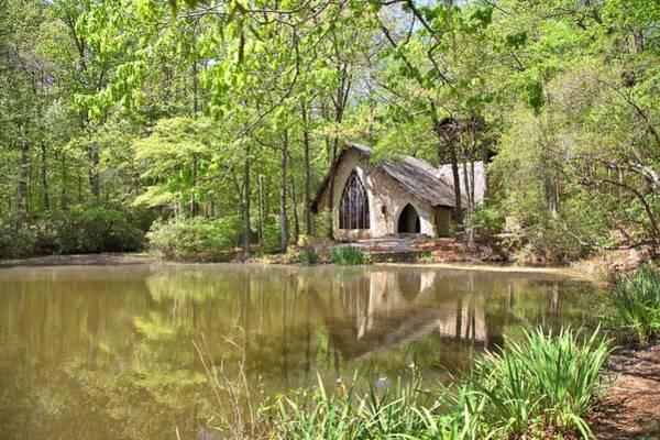 Photograph - The Garden Chapel by Gordon Elwell