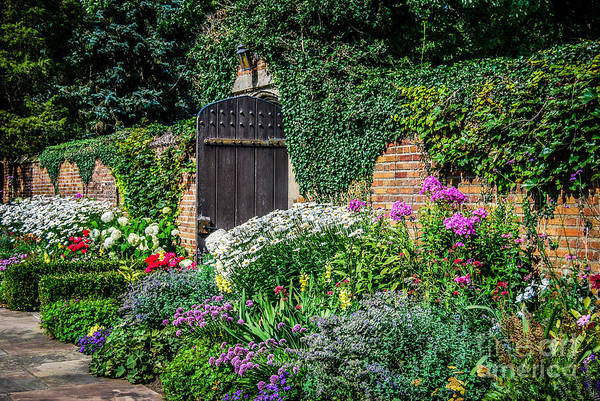 Meadowbrook Photograph - The Garden Gate by Grace Grogan