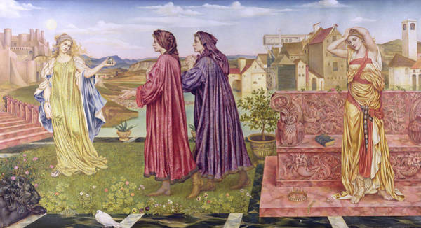 Painting - The Garden Of Opportunity by Evelyn De Morgan