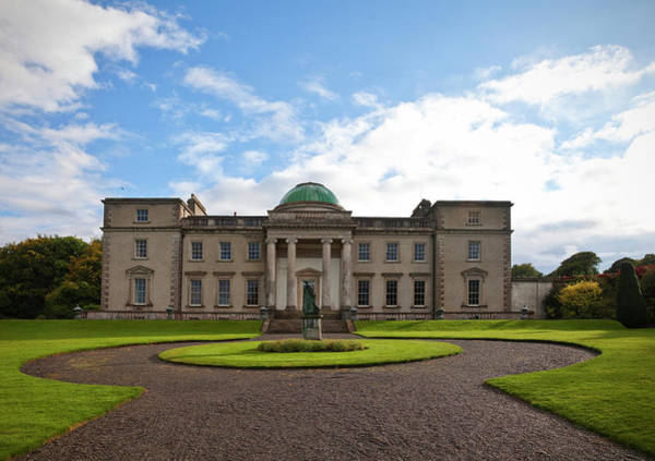 Court House Photograph - The Garden Side Of Emo Court Designed by Panoramic Images
