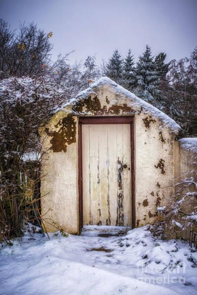 Outside Toilet Photograph - The Garden Toilet by Ann Garrett