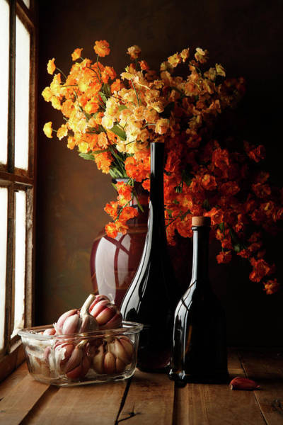 Bottles Photograph - The Garlics by Luiz Laercio