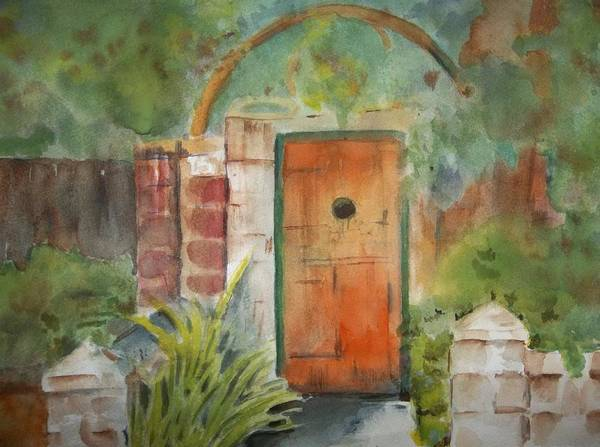 Painting - The Gate by Audrey Bunchkowski