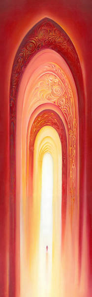 The Gate Of Light Art Print