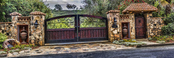 Digital Art - The Gate by Photographic Art by Russel Ray Photos