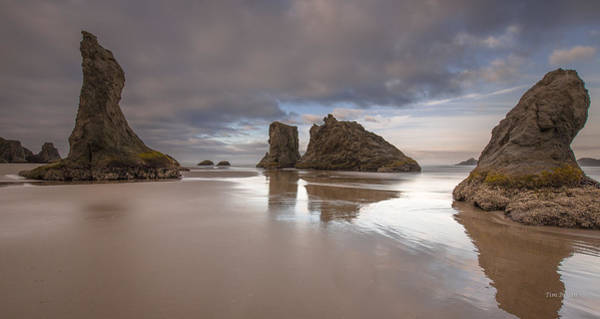 Photograph - The Gathering Front--- Bandon Oregon by Tim Bryan