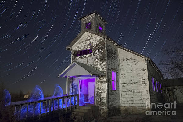 Star Trails Photograph - The Gathering II by Keith Kapple
