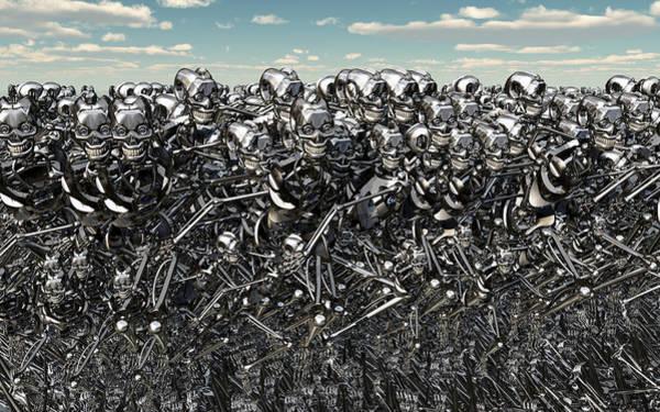 Revolting Digital Art - The Gathering.1. by Mark Stevenson