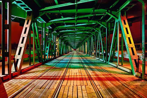The Gdanski Bridge Art Print