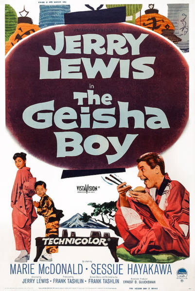 1958 Movies Photograph - The Geisha Boy, Us Poster Art by Everett