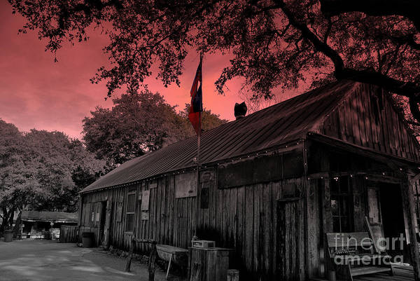 Photograph - The General Store In Luckenbach Texas by Susanne Van Hulst