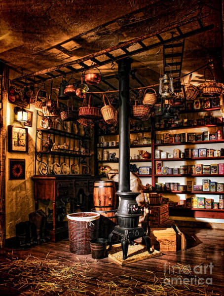 Photograph - The General Store In My Basement by Olivier Le Queinec