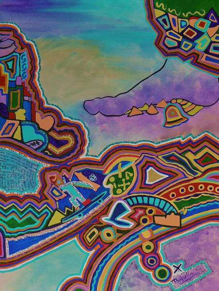 Desert Rose Painting - The Genie Is Out Of The Bottle by Barbara St Jean