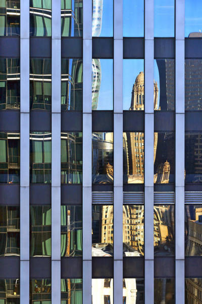 Photograph - The Geometry Of Reflections by Leda Robertson