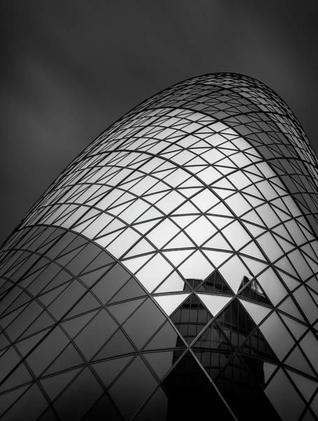 England Photograph - The  Gherkin by Ahmed Thabet